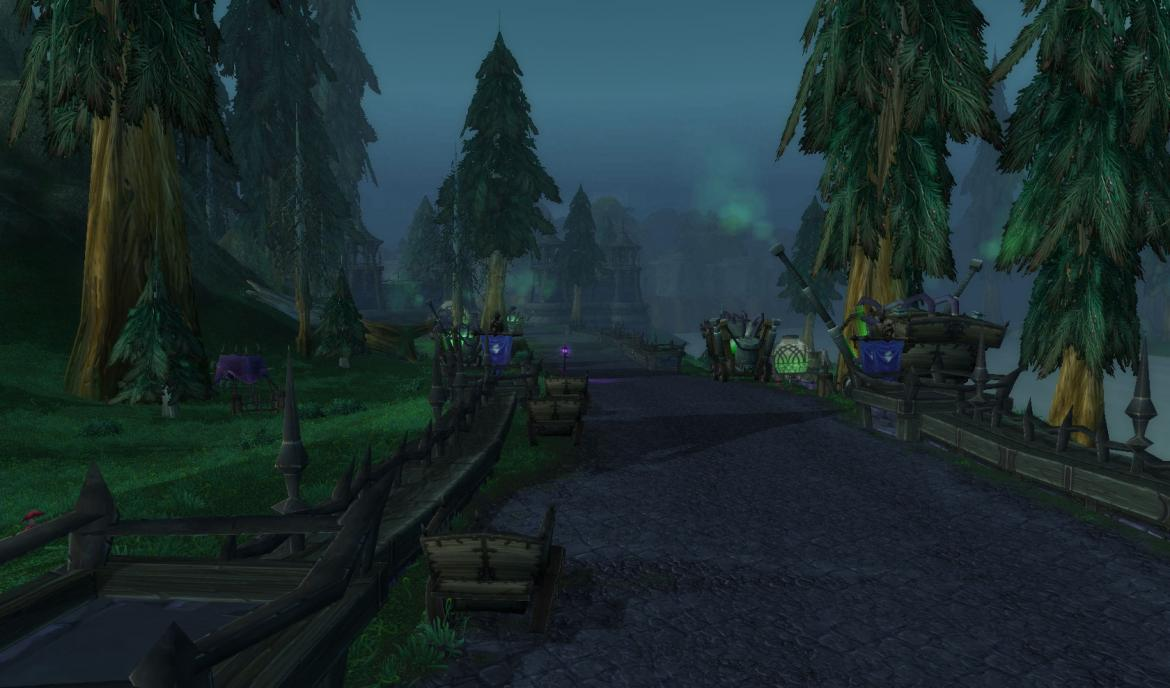 The road from Hillsbrad Foothills to The Undercity