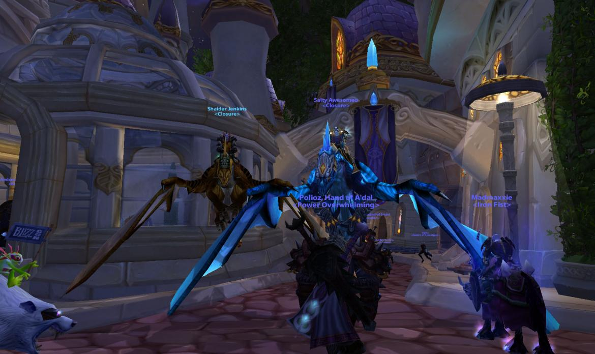 Bronze and Blue Drake mounts