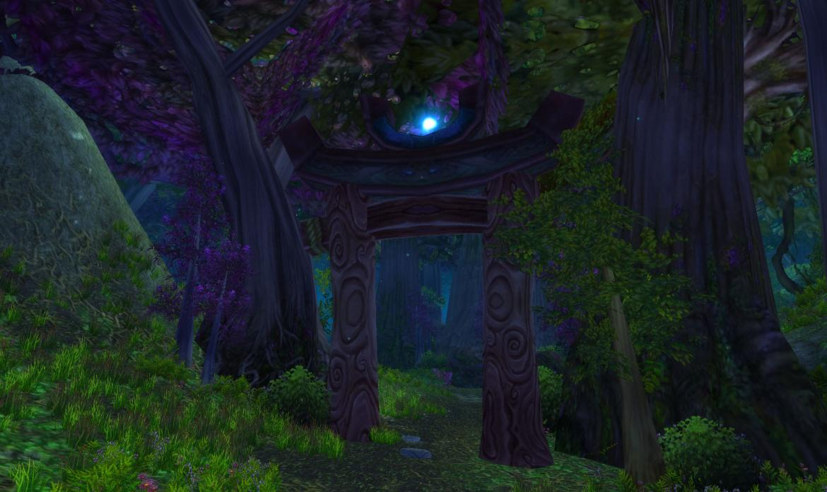 Night Elf gate