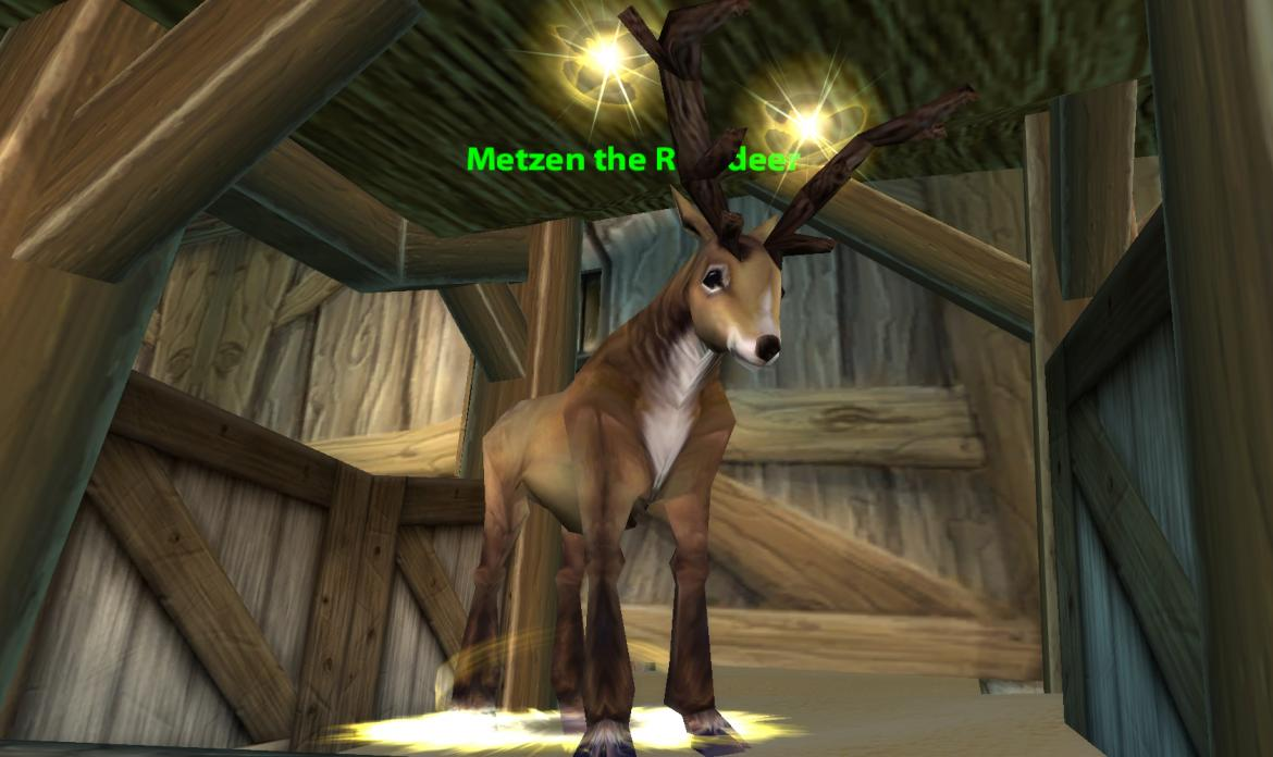 Metzen the Reindeer