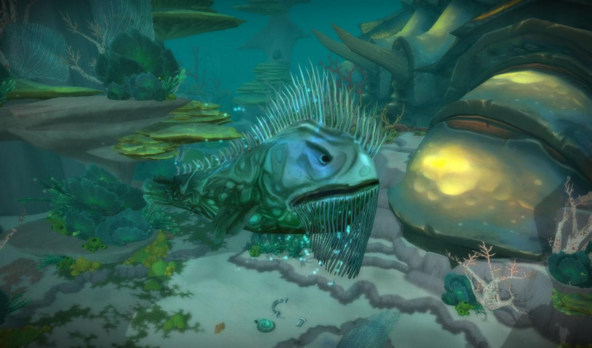 Siver Tide Trench fish