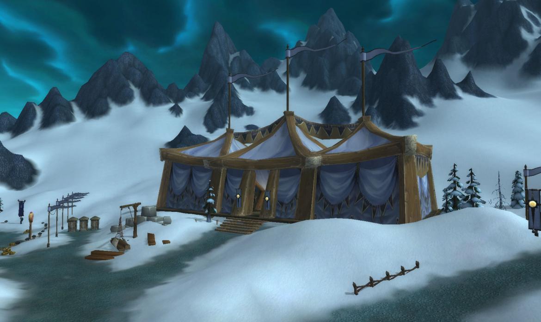 Argent Tournament tent