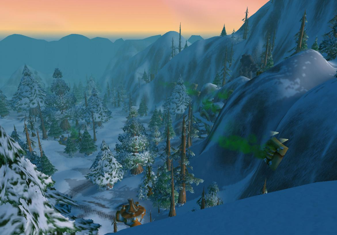 Looking out over Gnomeregan entrance