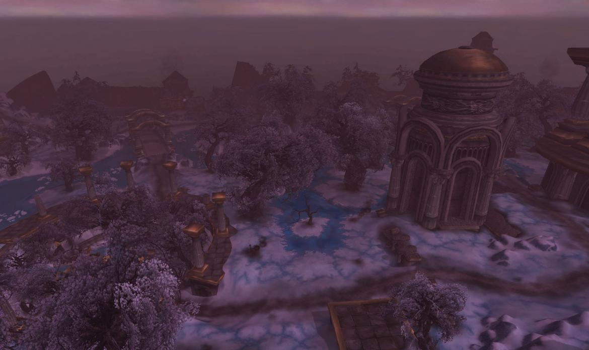 Looking out over Wintergrasp