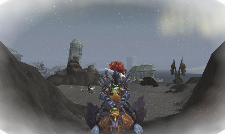 Troll riding a Black Hawkstrider