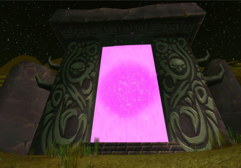 The Dark Portal in The Black Morass