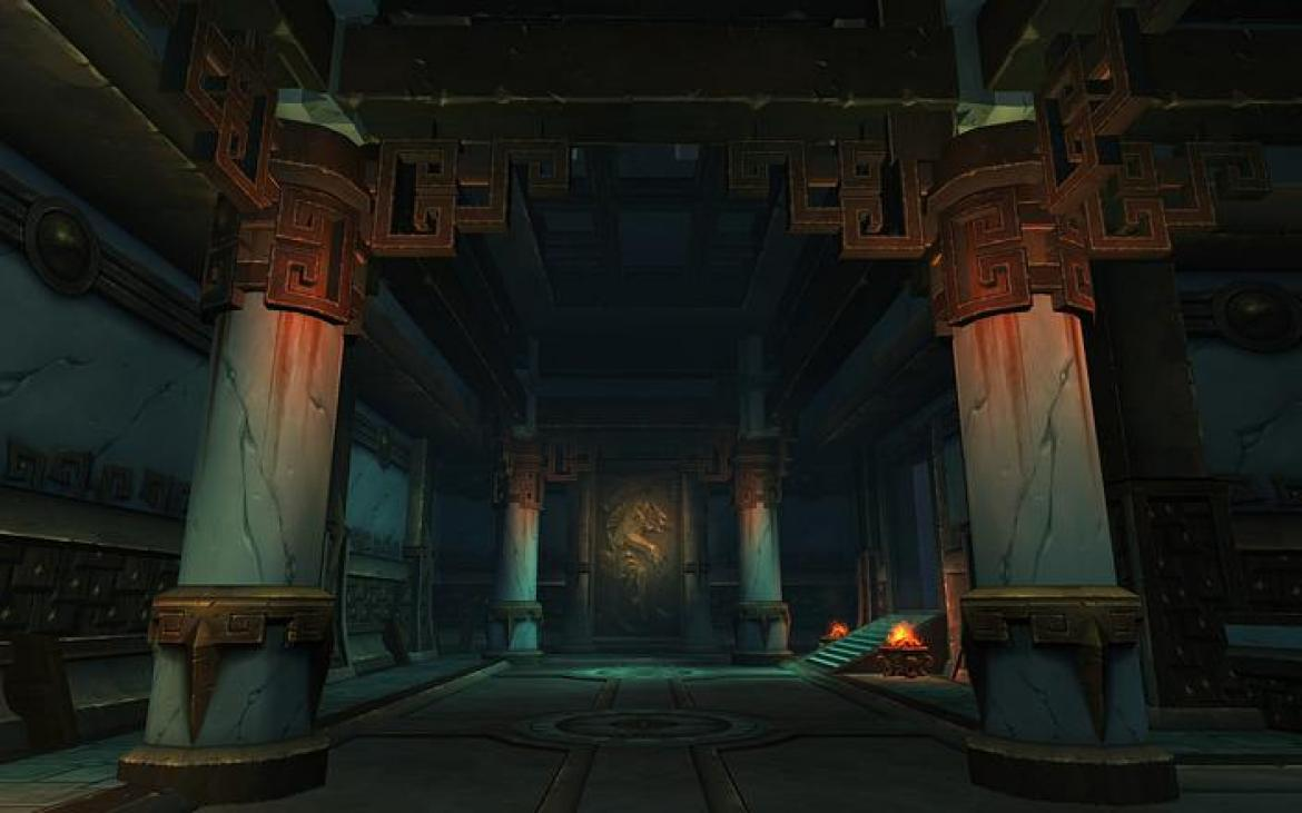 Mists of Pandaria -- Inside the Shado-pan Monastery