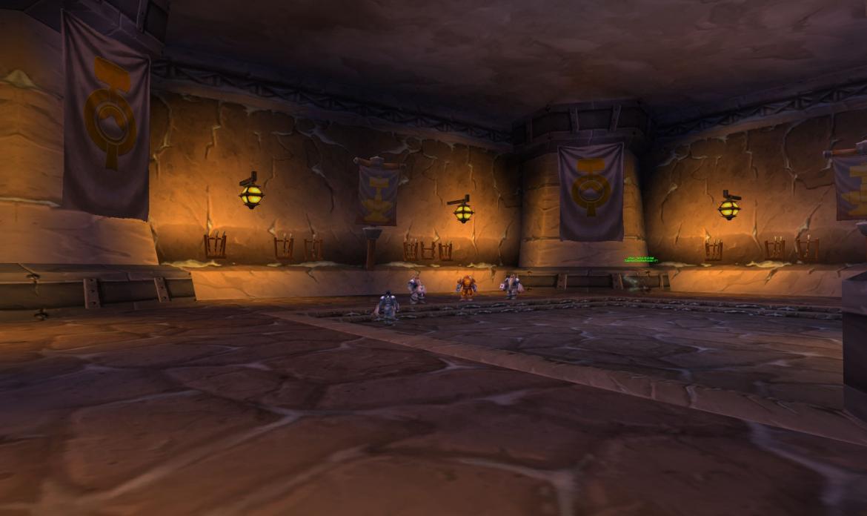 Vanndar Stormpike inside Dun Baldar