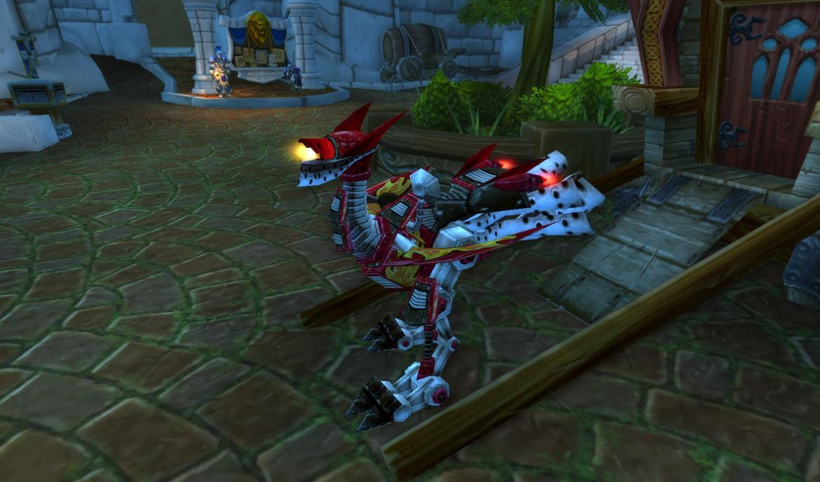 Red Gnome mount