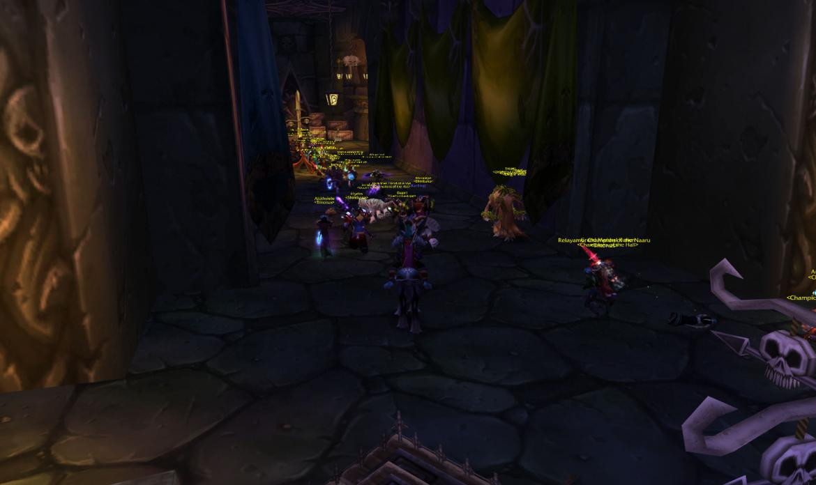 Alliance attacking The Undercity