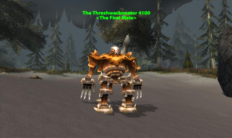 The Threshwackonator 4100 <The First Mate>