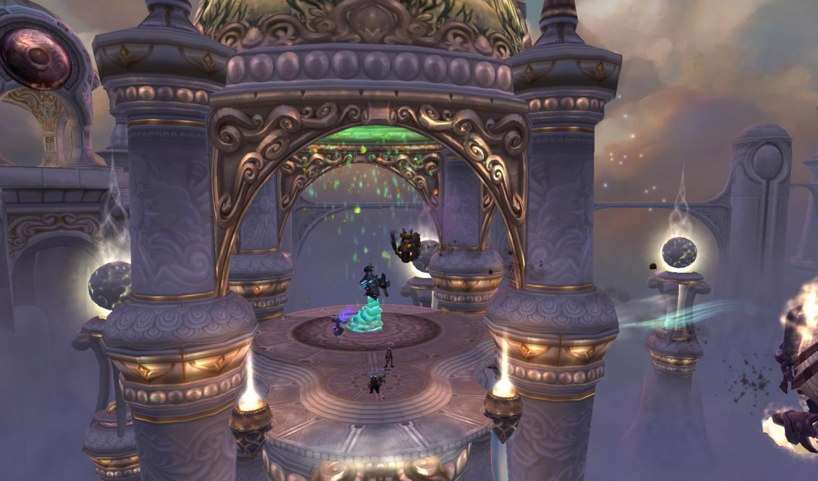 Jumping to Anshal in Throne of the Four Winds