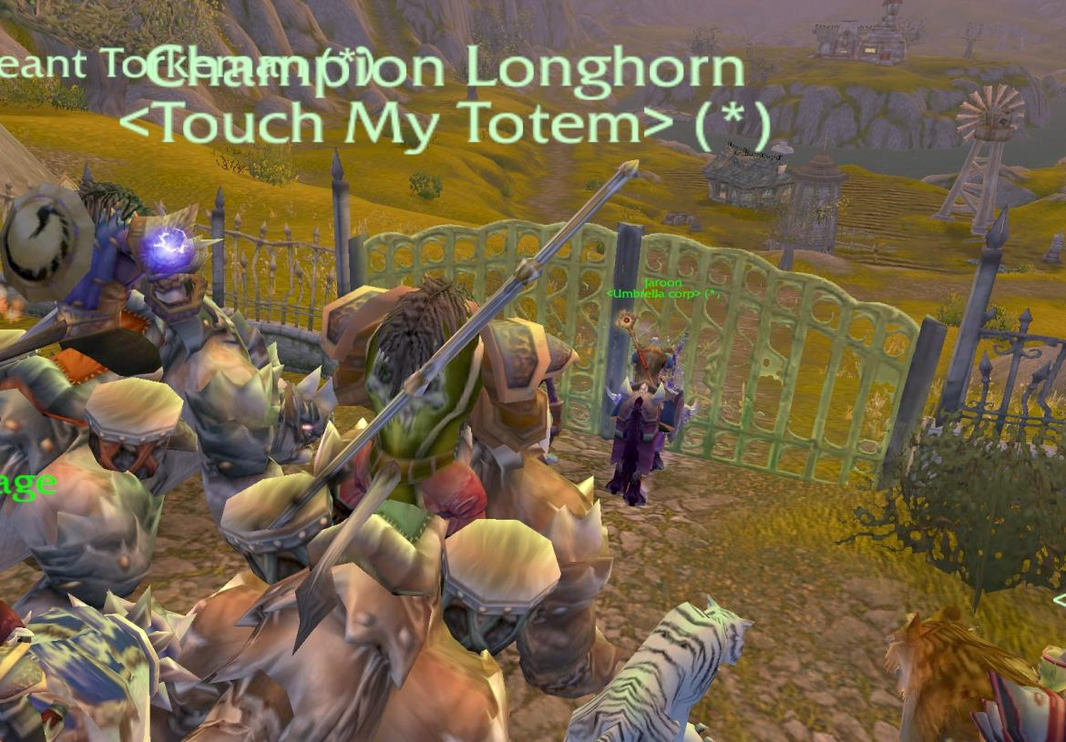 Champion Longhorn <Touch My Totem>