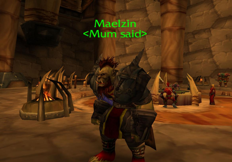 Maelzin <Mum said>