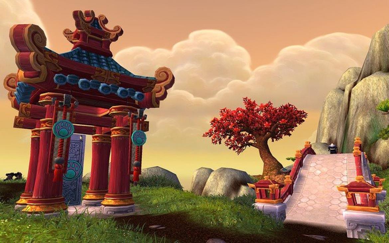 Mists of Pandaria -- Pandaren architecture