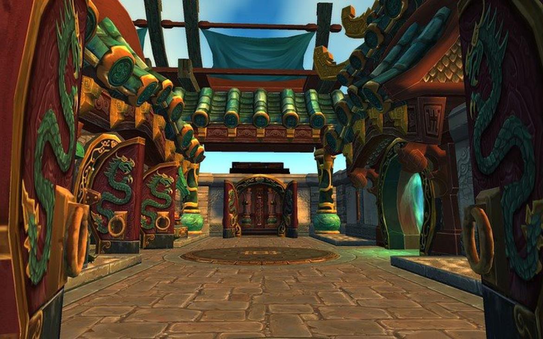 Mists of Pandaria -- Pandaren Temple of the Jade Serpent