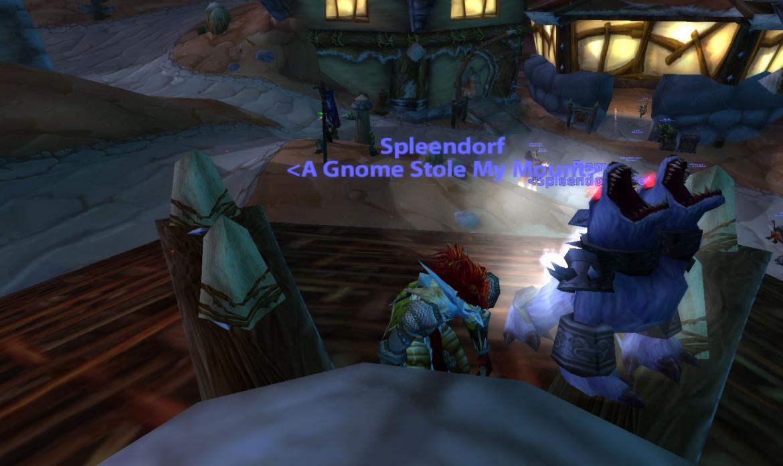 Spleendorf <A Gnome Stole My Mount>