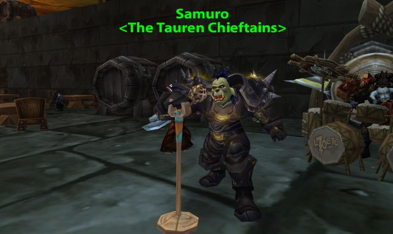 Samuro <The Tauren Chieftains>