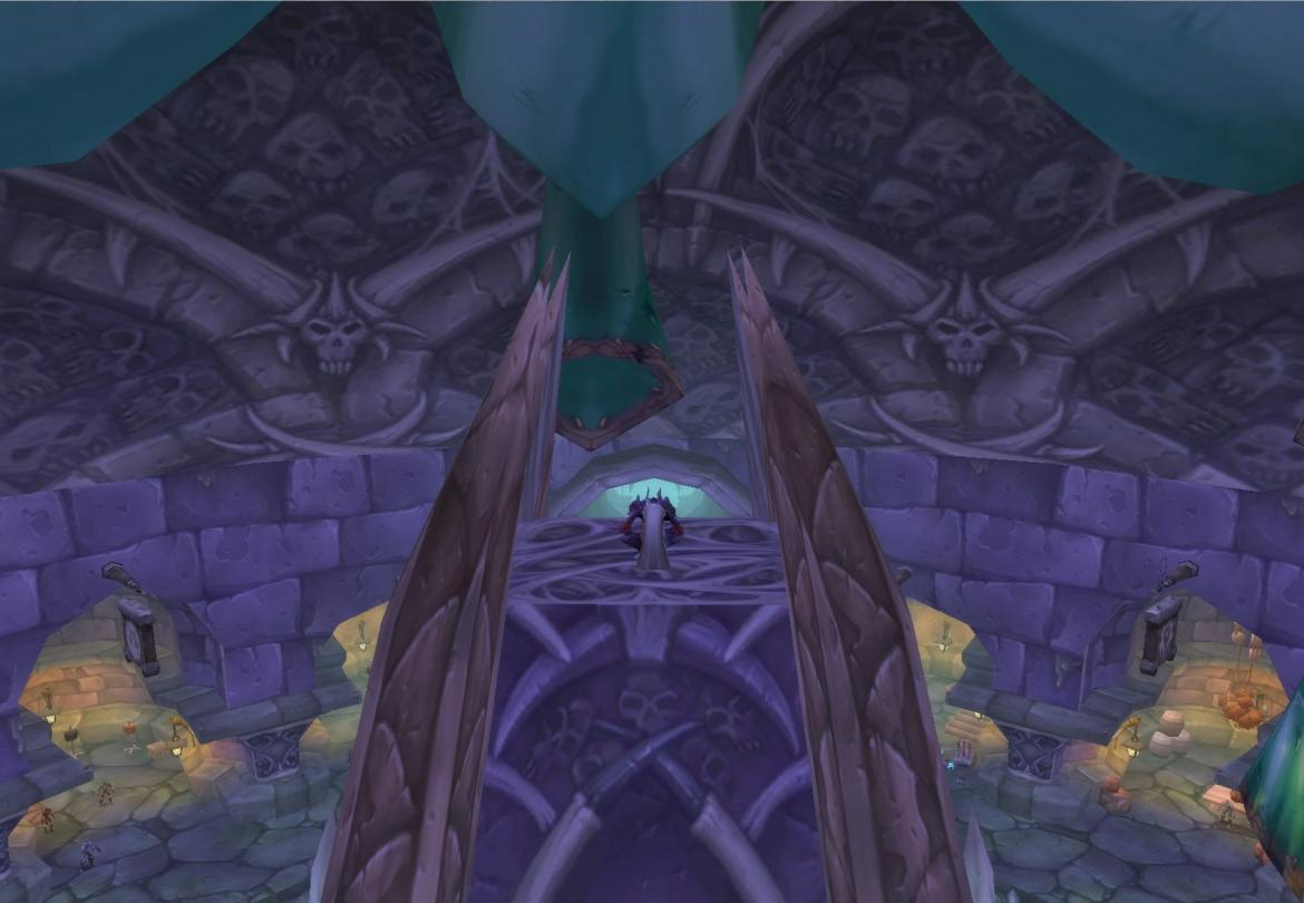 On top of the Undercity bank