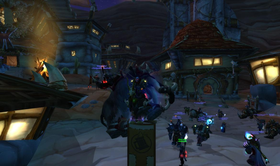 Mounts on the Brewfest banner
