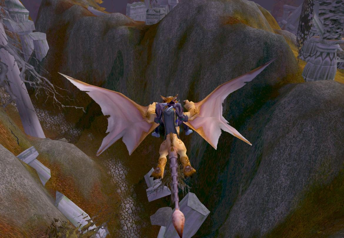 Troll flying in Azshara