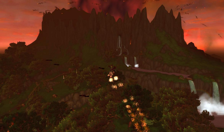 Flying Goblin using rocketboots