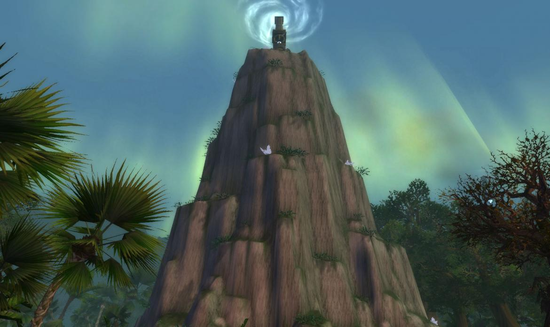 The Glimmering Pillar
