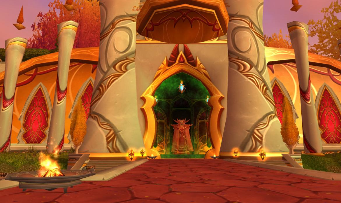 Sunwell Plateau entrance