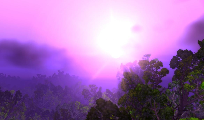 The Sun over Teldrassil