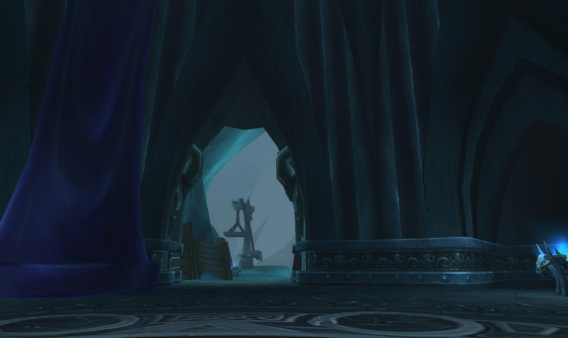 The Lich Kings seat room exit
