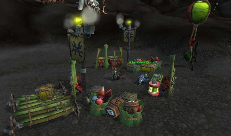 Goblin Explosives camp