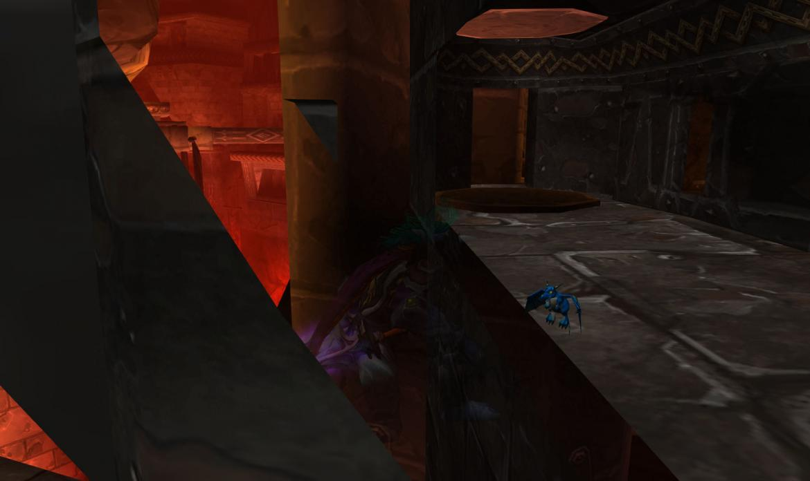 Sneaking around in Blackrock Depths