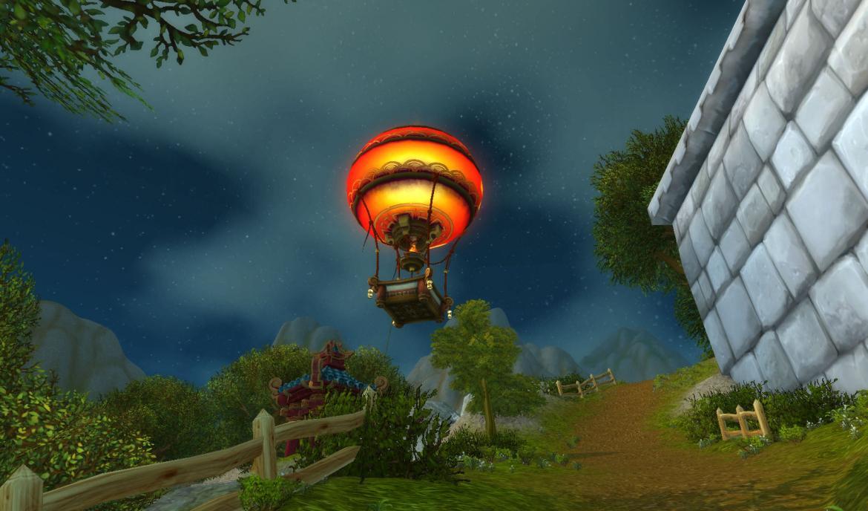 Padaren balloon in Stormwind