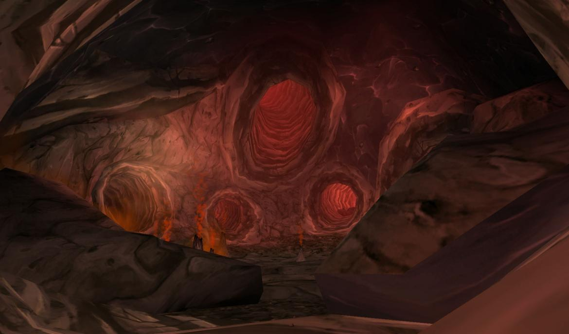 Inside the Lost Isles volcano