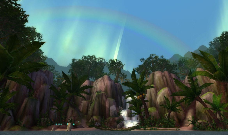 Rainbow over River's Heart