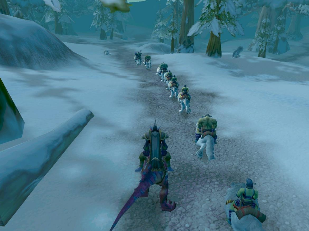 Following the wolfriders