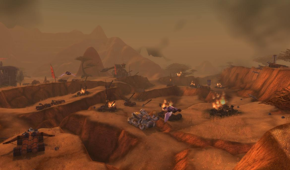 Battlefield in The Southern Barrens