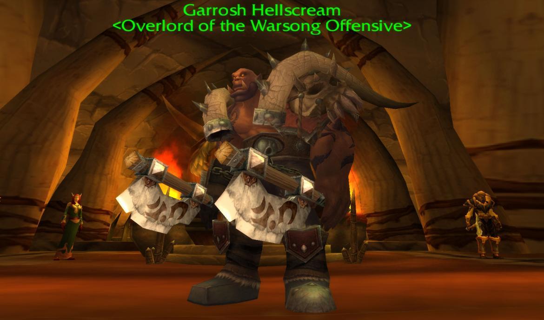 Garrosh Hellscream <Overlord of the Warsong Offensive>