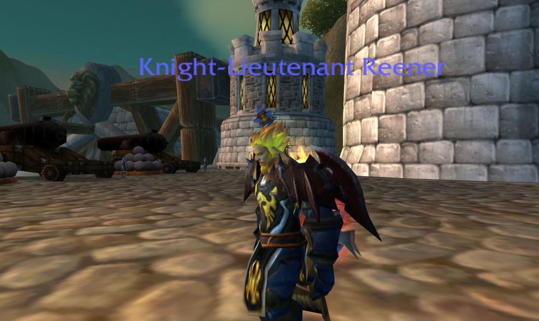 Knight-Lieutenant Reener