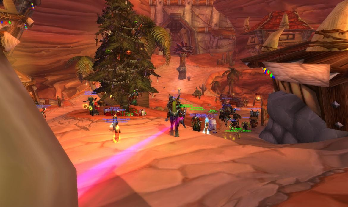 X-Mass tree in Orgrimmar