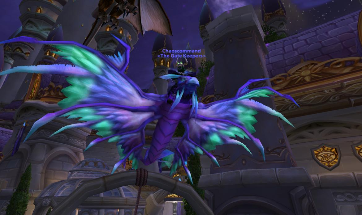 Alliance Mountain o' Mounts Blue Dragonhawk mount
