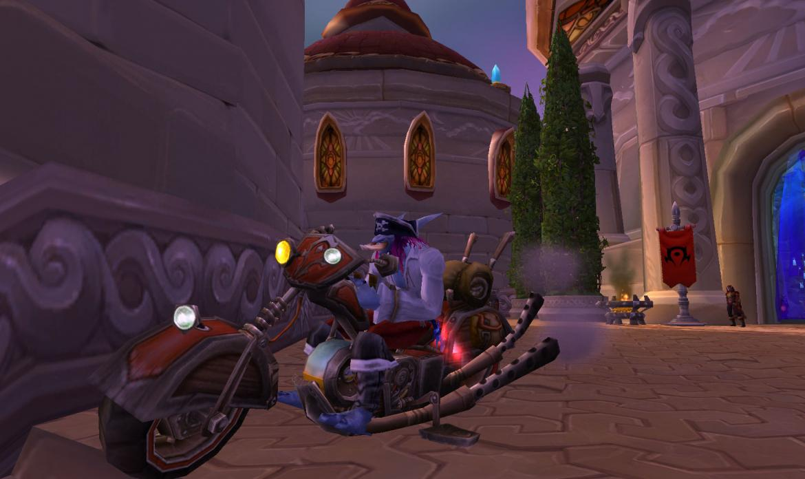 Pirate Troll on a Mechano-Hog