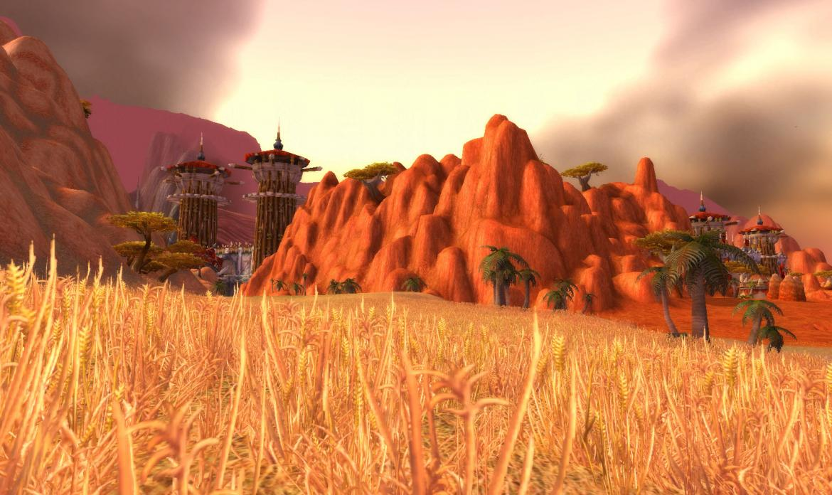 Orgrimmar West and Main Gate