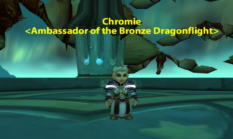 Chromie <Ambassador of the Bronze Dragonflight>