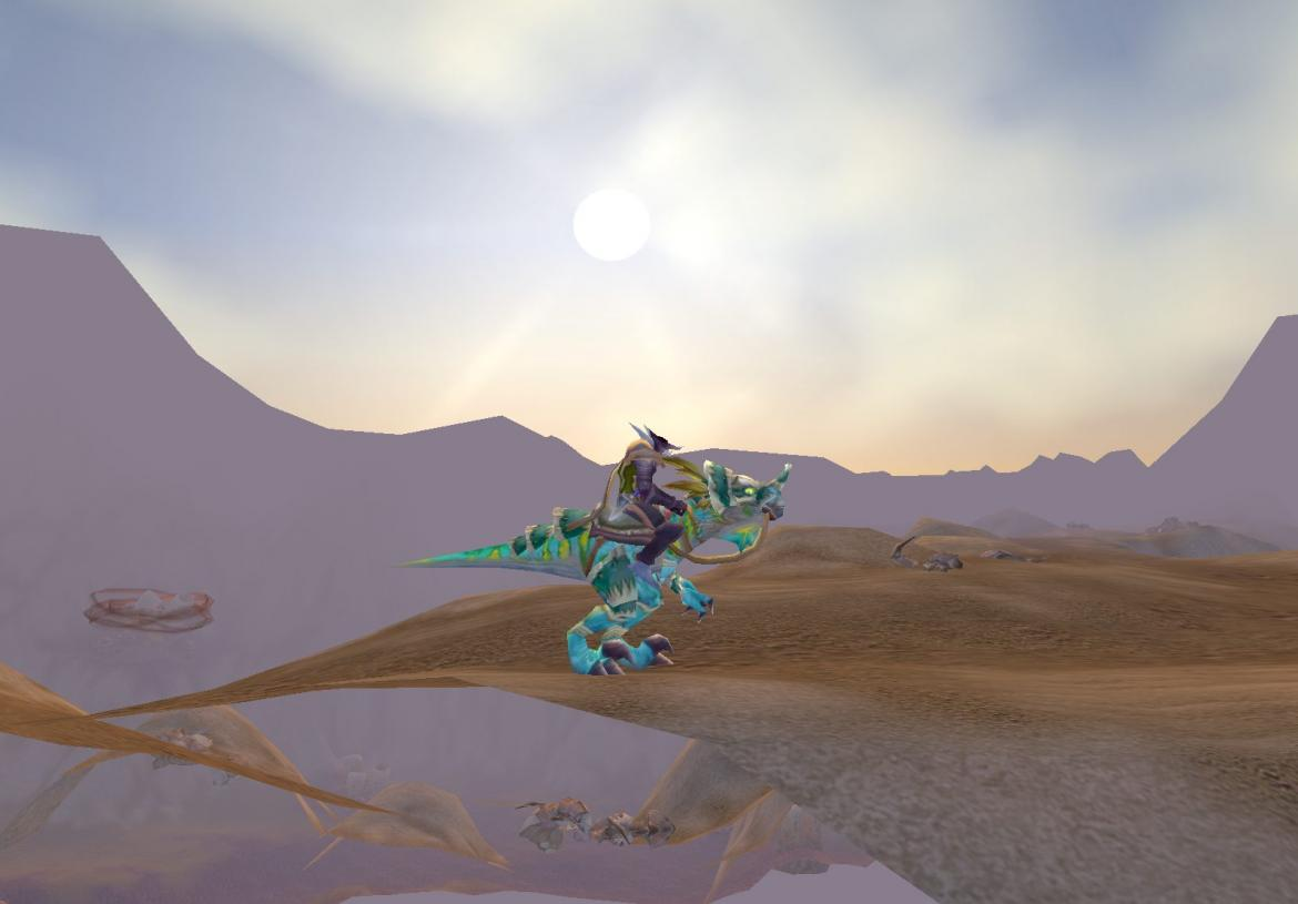 Troll on blue Raptor