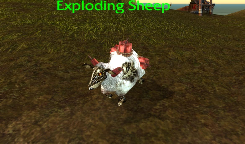 Exploding Sheep