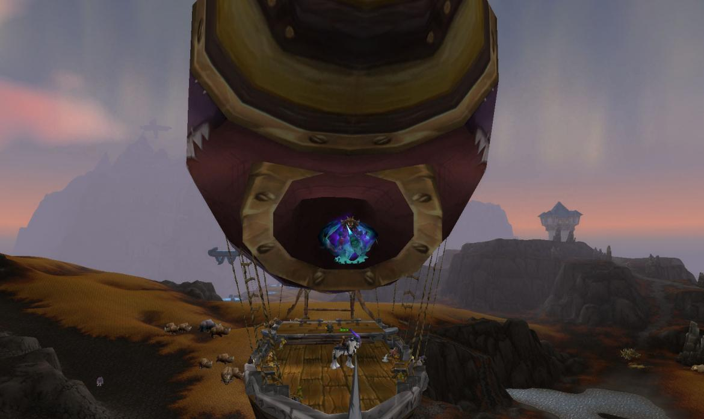 Riding the zeppelin