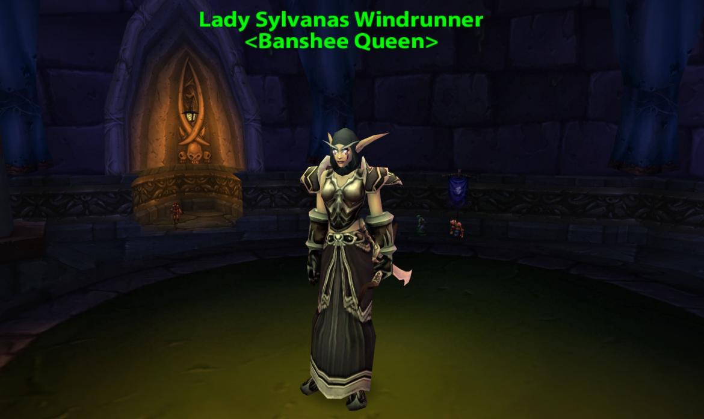 Lady Sylvanas Windrunner <Banshee Queen>