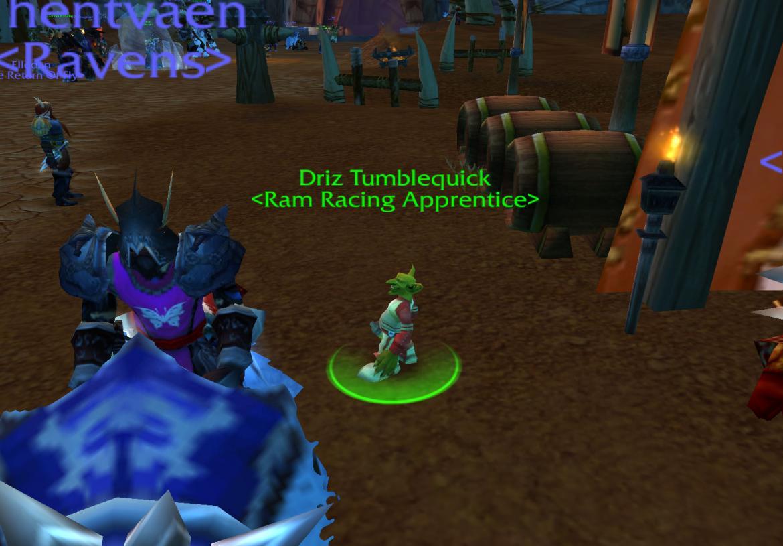 Driz Tumblequick <Ram Racing Apprentice>