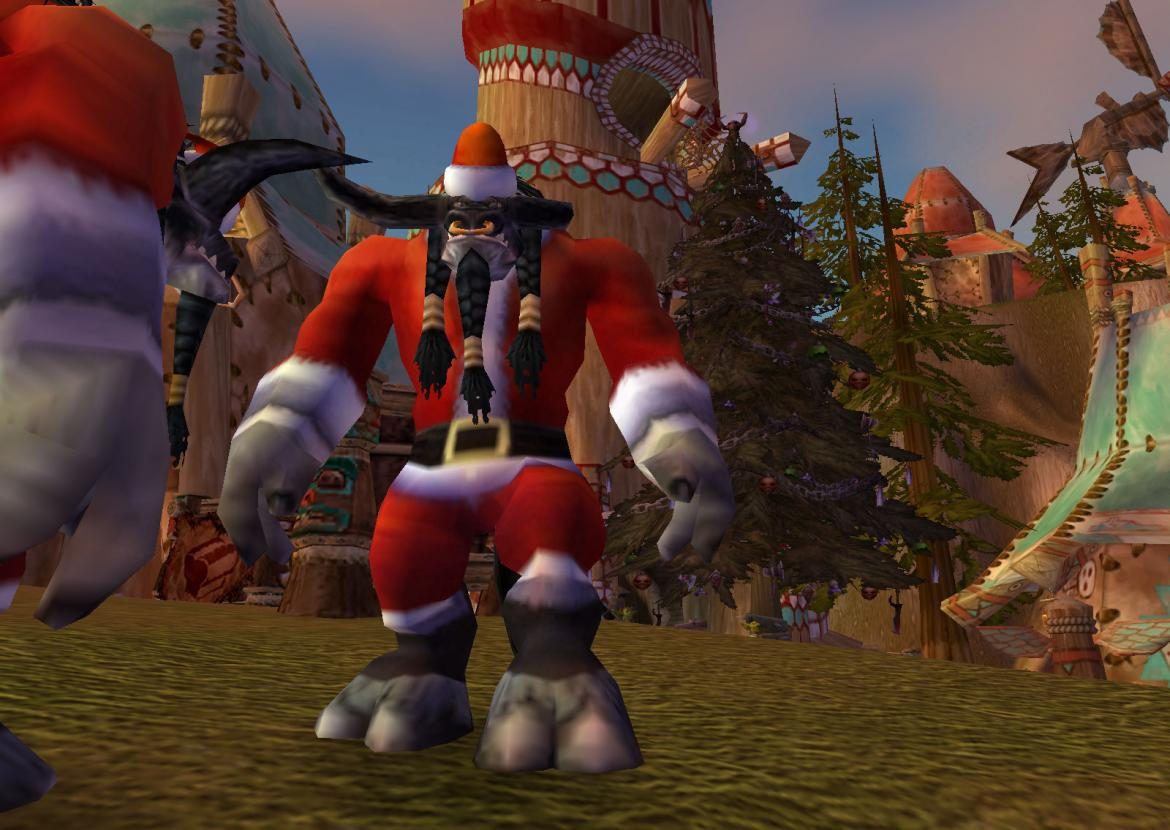 Winter Veil Tauren